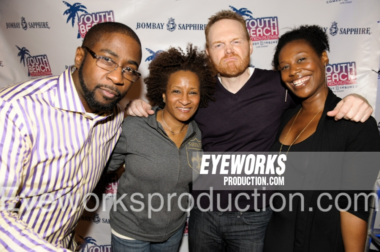 WANDA SYKES BILL BURR Comedy Central Eyeworksproduction
