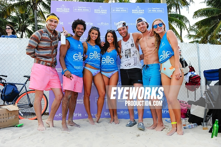 Model Beach Volleyball 2015 Miami Beach by Sergi Alexander.
