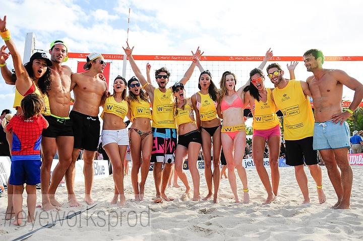 Model Beach Volleyball 2015 Miami Beach by Sergi Alexander.