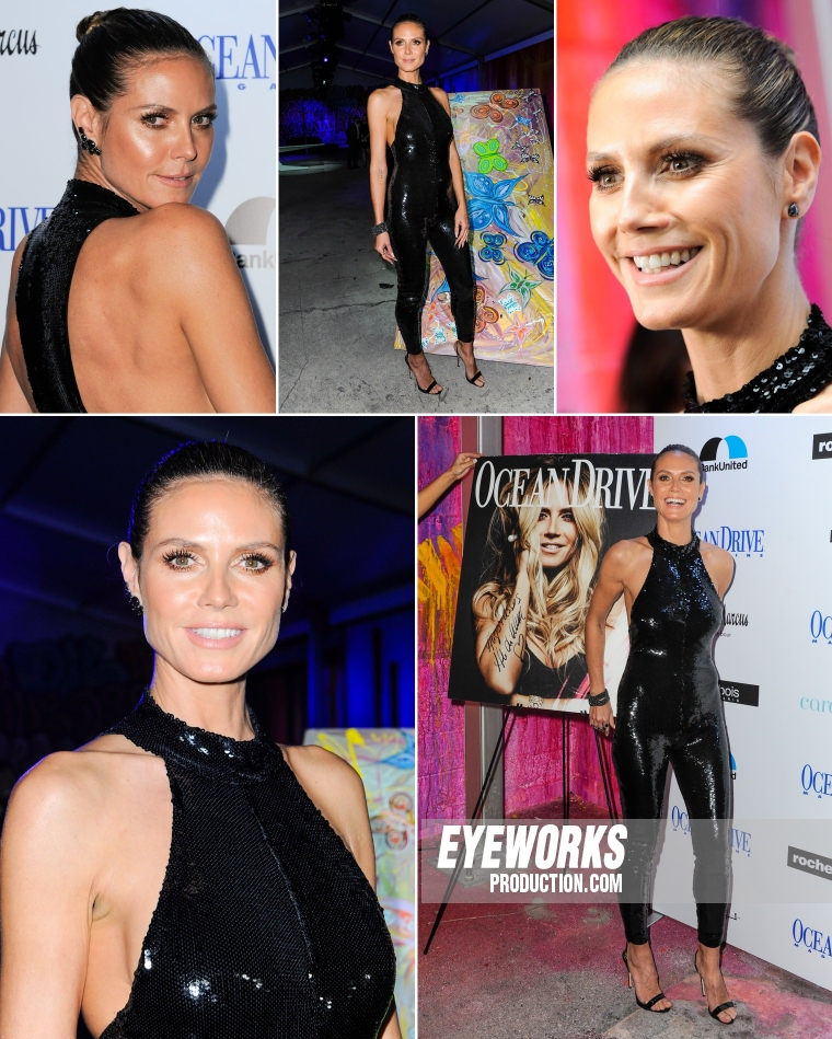 Event Photo Heidi Klum by Sergi Alexander.